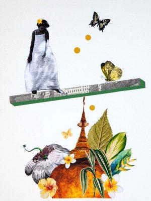 Papier Collage Balance